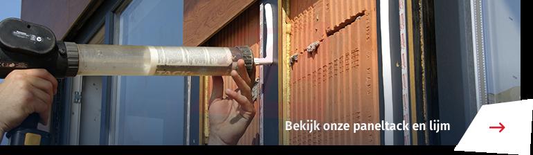 paneltack en lijm voor gevelbouw